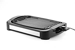 Grill Griddle,iGarden Indoor Electric Smokeless Cast-Aluminum Reversible Grill Griddle Combo- Water-Based Double-Layer Teflon Coating,1700 Watts, Non-Stick FDA Certification For Home Restaurant Party