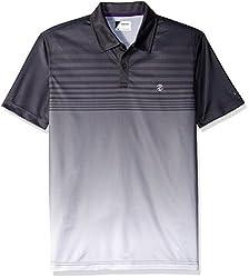 IZOD Men's Performance Golf Polo, Vivid Bright White, Small