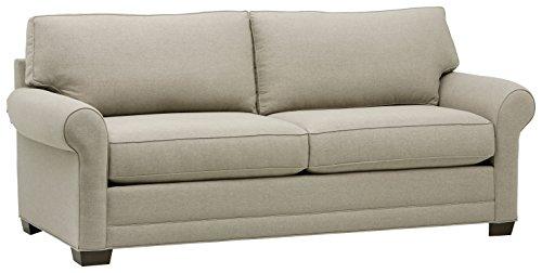 Stone & Beam Kristin Round Arm Performance Fabric Loveseat Sofa Couch, 88