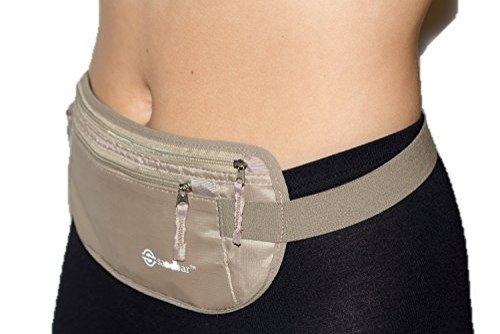 Sandbar Money Belt for Travel/Hidden Waist Wallet for Men and Women - RFID Blocking best women's fanny pack