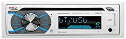 Boss Audio Mr508uabw Single Din, Bluetooth, Cd Mp3 Usb Sd Amfm Weather-proof Marine Stereo, Wireless Remote