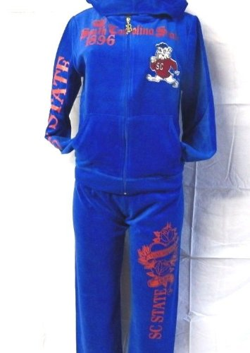 新しい。ブルーSouth Carolina State Bulldogs Warm Up WomensジョギングTrack Suits XL B079WPXQSK