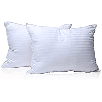 milddreams pillows for sleeping 2 pack queen size 20x30 inch u2013 set of 2 bed pillows u2013 soft material plush gelfiber3d hollow retain