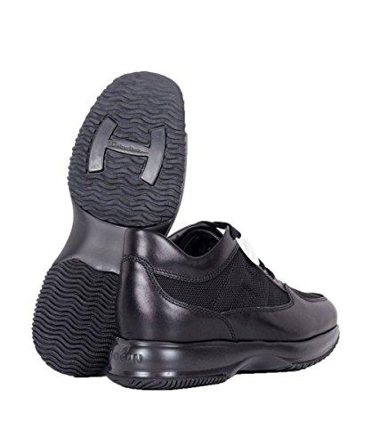 Hogan Hombre HXM00N000104NF9999 Negro Cuero Zapatillas