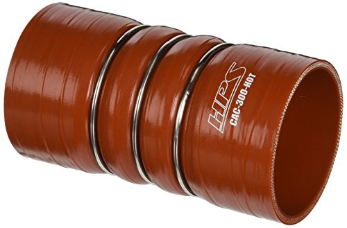 cone High Temperature 4-ply Aramid Reinforced Charge Air Cooler CAC Hose Hot Side, 100 PSI Maximum Pressure, 6