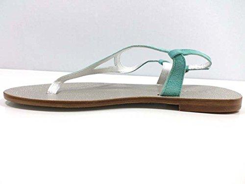 Zapatos Mujer EDDY DANIELE 37 Sandalias Verde Gamuza AW520