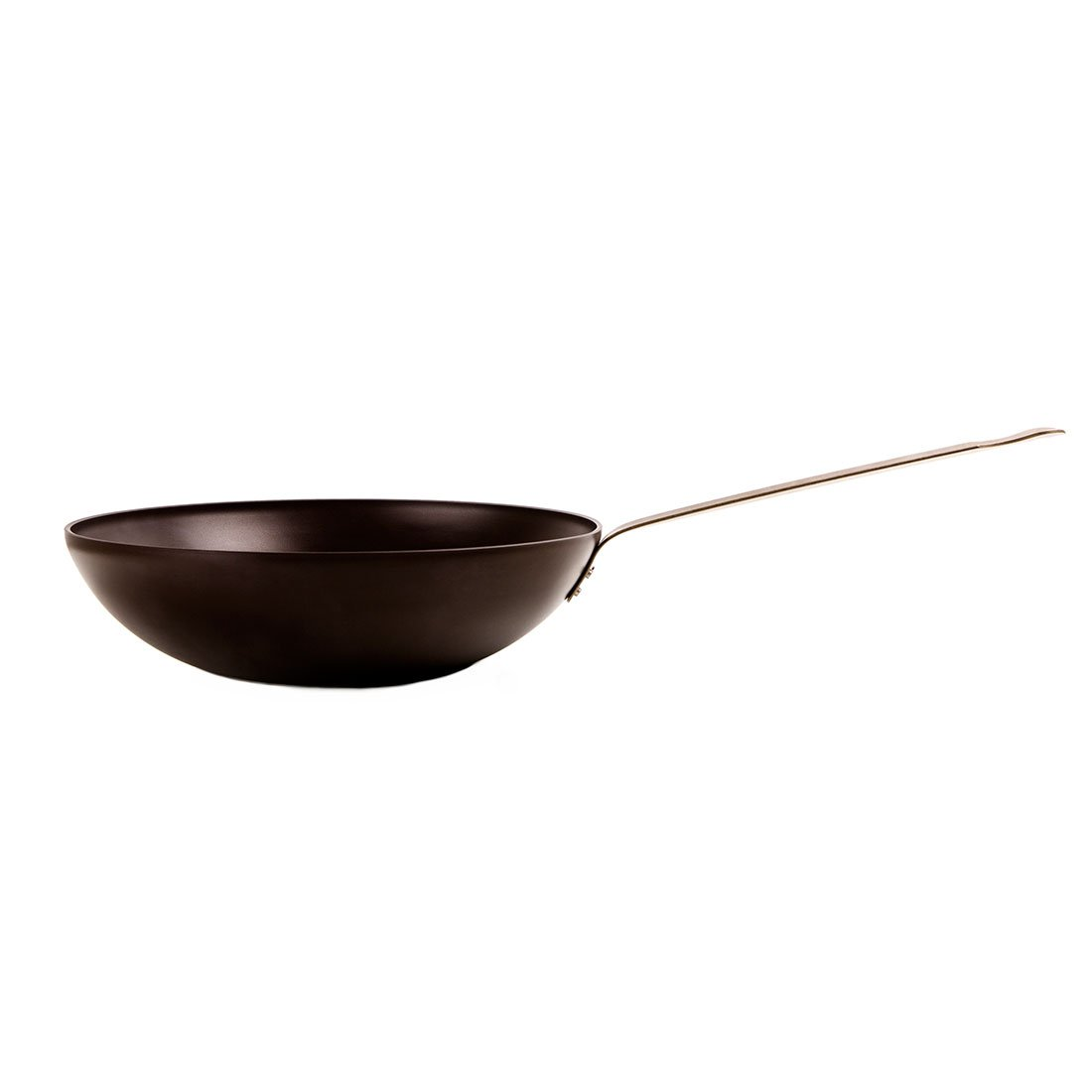 KnIndustrie K7 - Pasta Pan/Wok Ø28 Dark Brown - Bronze