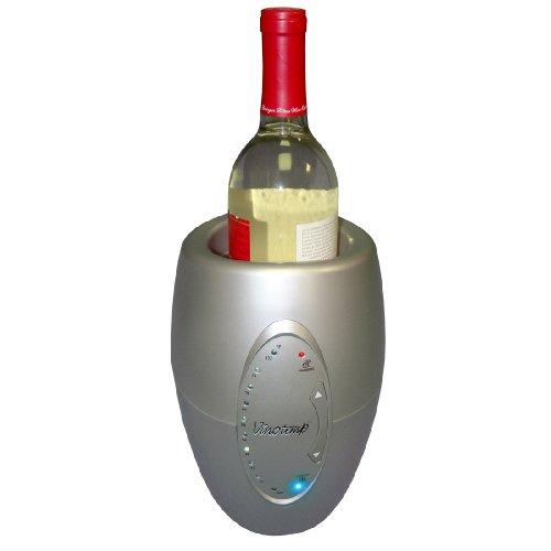 Vinotemp One Bottle Wine Chiller Silver