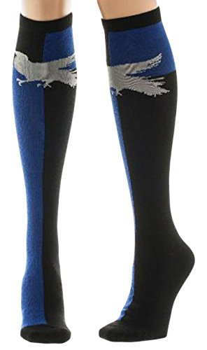 Harry Potter Ravenclaw Knee High Womens Socks Mighty Fine BWI-KH1H4VHPT