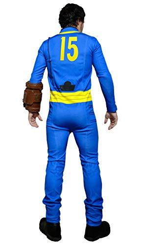 DAZCOS US Size Unisex Survivor 13/15 /101 Jumpsuit Bodysuit Cosplay Costume (Men-XLarge, Men-15)]()