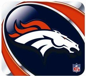 - Denver Broncos Mouse Pad - Vortex Design