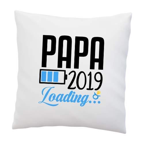 Liebtastisch Cojín con Texto en alemán Papa Loading 2019 ...