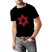 T shirts for men Star of David - Shield of David - Magen David - Jewish identity symbol