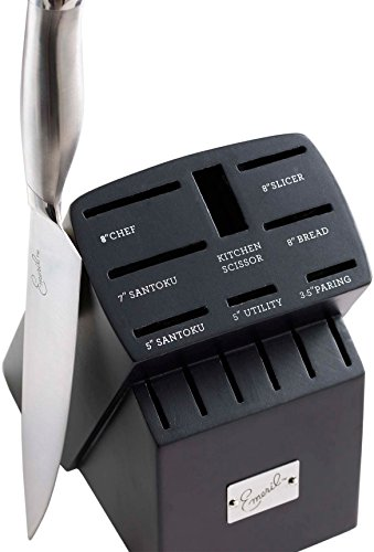 Emeril Cutlery 15 piece Block Knife Set