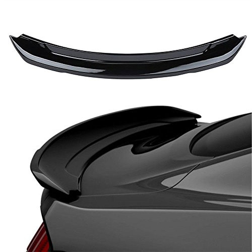 Mustang Trunk Ford Wing (Rear Trunk Spoiler Wing in Glossy Black for 2015 2016 2017 Ford Mustang GT350)