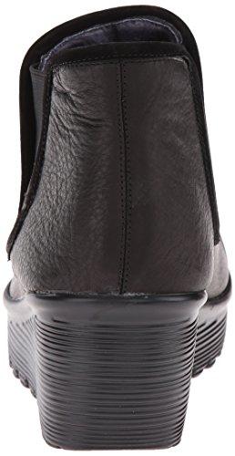 Black Mesh Skechers Parallel Double Chelsea Boot Great Women's wxAYq1nFT