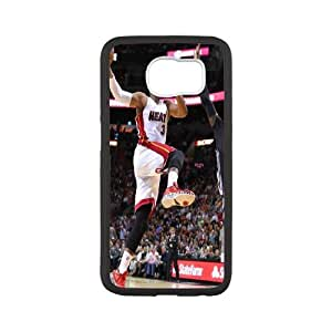 Unique Phone Case Pattern 17Miami Heat Dwayne Wade #3 Action Shot Phone Case- For Samsung Galaxy S6