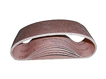 "3M 341D 3"" x 21"" 60 Grit Sanding Belt (Pack of 10): Power Belt ..."