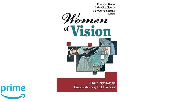 women of vision gavin eileen a phd clamar aphrodite phd siderits mary anne phd