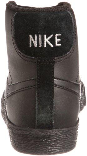 Nike Mens Air Jordan 1 Retro Hoog Deconstrueerde Zwart Zwart / Zwart Zeil Canvas