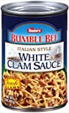 Bumble Bee Italian Style White Clam Sauce 15 oz