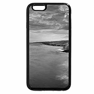 iPhone 6S Case, iPhone 6 Case (Black & White) - Sunset
