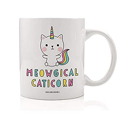 Cat Fan related Products Kitty Cat Unicorn Coffee Mug Gift Idea Meowgical Caticorn Unique Meow & Purr Magic Christmas Bir [tag]