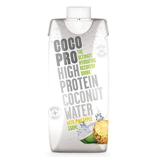 Coco Pro 330 ml High Protein Coconut Water with Pineapple by Coco Pro by Coco Pro