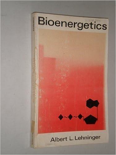 Bioenergetics: The Molecular Basis of Biological Energy Transformations