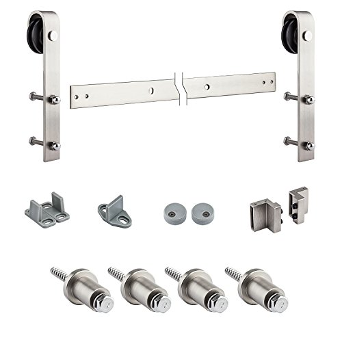 National Hardware N186-966 920 Decorative Interior Sliding Door Hardware in Satin Nickel by National Hardware