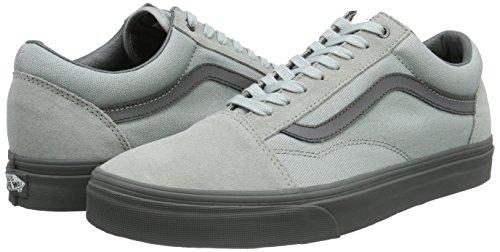Vans Skool Skateboarding High Ankle Old High Canvas rise Shoe Pewter wPqw4AHp