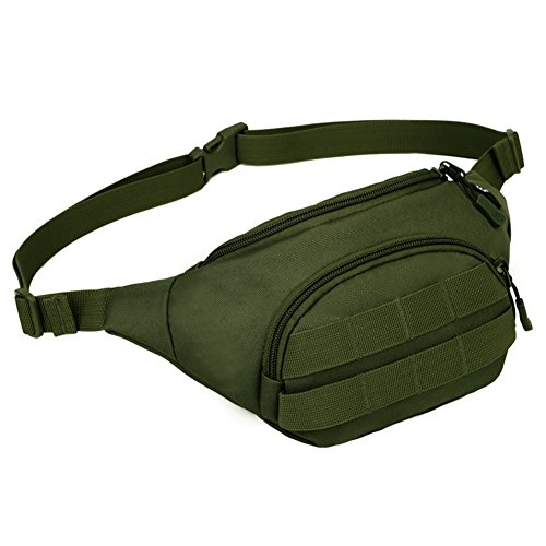 Tactical Molle Pouch Waist Pack Bag Compact Sports Fanny Pack Travel Money - Edc Guy Outfits