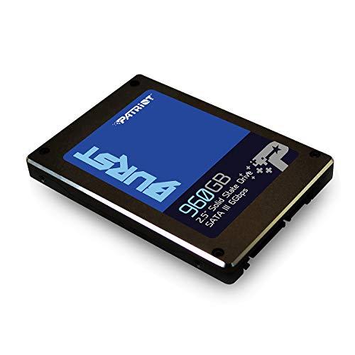 Patriot PBU960GS25SSDR Memory Burst SSD 960GB SATA III Internal Solid State Drive 2.5'' - by Patriot (Image #1)