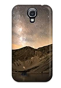 New Arrival Case Cover With HRHoRjR2394pcrgg Design For Galaxy S4- Milkway