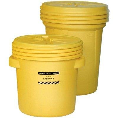 Polyethylene Lab Pack Drums, Yellow - 20 (20 Gallon Lab Pack)