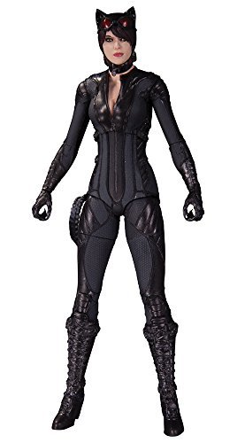 "[DC action figure ""Batman: Arkham Knight"" 6 inches # 07 Catwoman height of about 17 cm plastic-painted action figure"