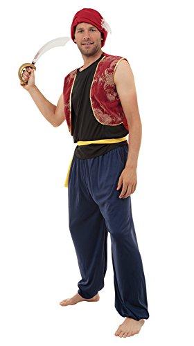 Prince Of Persia Costume Men (Mens Arabian Bandit Costume)