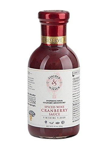 Turkey Tenderloin - Fischer & Wieser Spiced Wine Cranberry Sauce Bottle (Pack of 1)