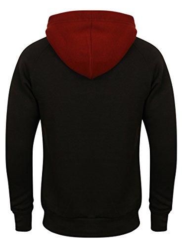 Complet Polaire Capuche 3 Pour Uni Fabrica Éclair Sweat Homme Survêtement Jogging Tone Fashion Black À Fermeture fI6gvbYy7
