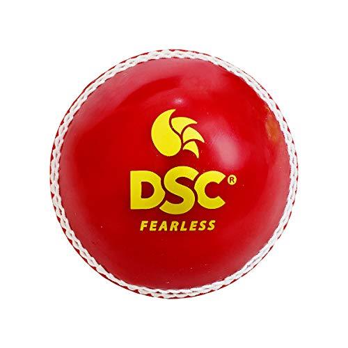 DSC 1500319 Synthetic Tennis/Cricket Ball, Size Junior, Senior  Red