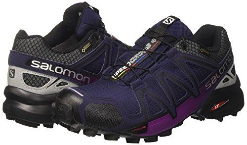 si W Multicolor 4 Salomon Para Running Mujer ev De Speedcross Zapatillas  Trail Azule B7qqTOgx 5f48db91031