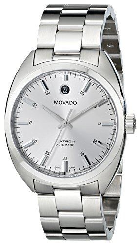 Movado Men's 0606360 'Datron' Stainless-Steel Watch