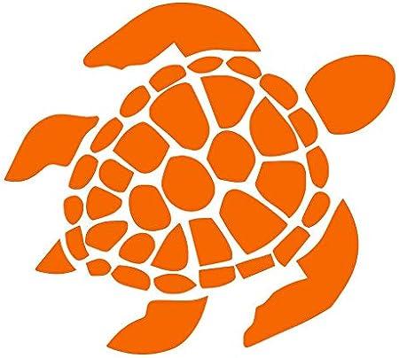 "Turtle Sea Turtle Decal Vinyl Sticker Truck Laptop Car Window 4/"" Black or White"