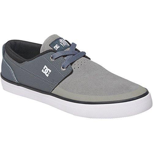 DC para hombre zapatos de Wes Kremer 2S Carbón Gris