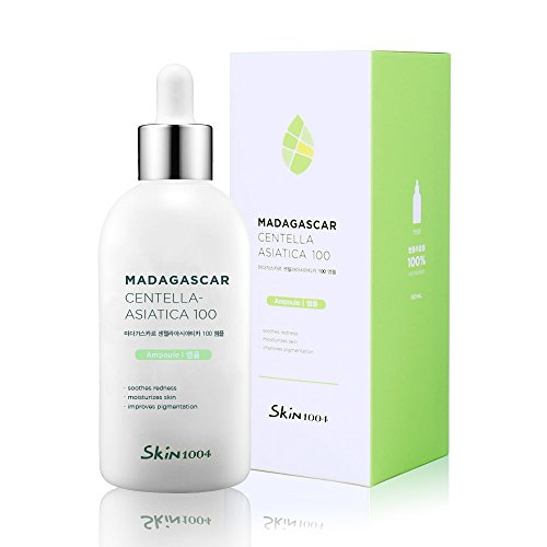 Sensitive Skin Soothing Serum - Skin1004 Madagascar Centella Asiatica 100 Ampoule (100ml or 3.38 floz) - Facial Serum - 100% Centella Asiatica Extract - for soothing sensitive and acne-prone skin