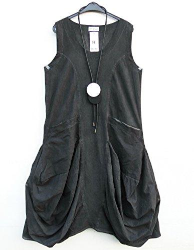 long 48 Lagenlook Robe XL Dress mit Vestito 46 3 langes 10 Leinen D'celli Gr Kleid 8fxw1qE4fp