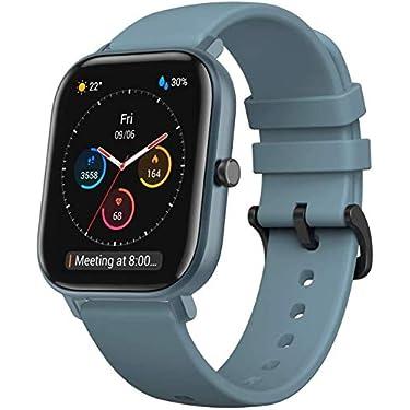 Amazfit-GTS-Smartwatch-Fitness-tracker-con-multitud-de-perfiles-de-actividad-fiscia-y-con-GPS-embebido-resistencia-al-agua-5-ATM-Azul
