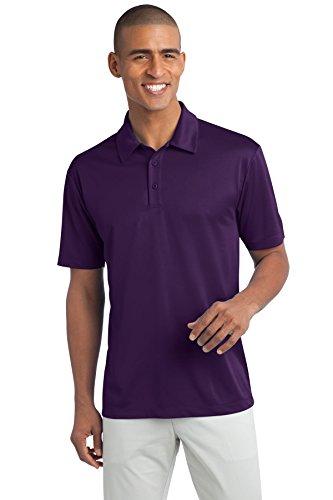 (Port Authority Men's Silk Touch Performance Polo XXL Bright Purple)