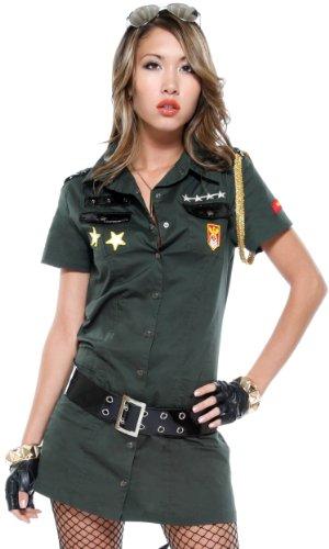 Army Seductress Costume - Plus Size 1X/2X