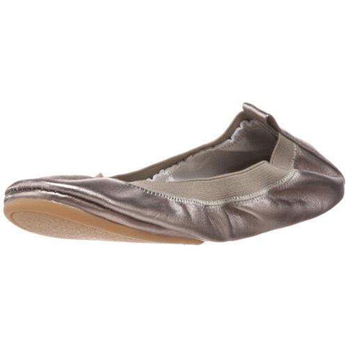 Pewter Samra Women's Flat Yosi Samra Ballet dBXwzqp
